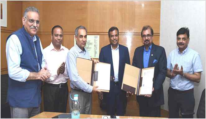 Agreement signing between OTBL and ONGC
